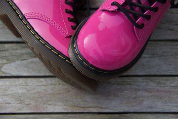 Roze laarzen. van Jarretera Photos