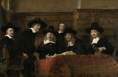 De Staalmeesters van Rembrandt Harmensz. van Rijn
