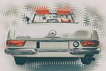 Mercedes Benz 230 SL Cabriolet van Edith Albuschat