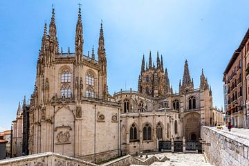 Unsere Liebe Frau Kathedrale von Burgos von Easycopters