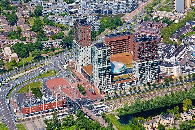 Luchtfoto Spazio Zoetermeer van Anton de Zeeuw