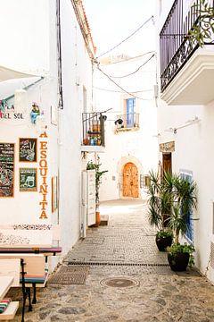 Streets of Ibiza van Djuli Bravenboer