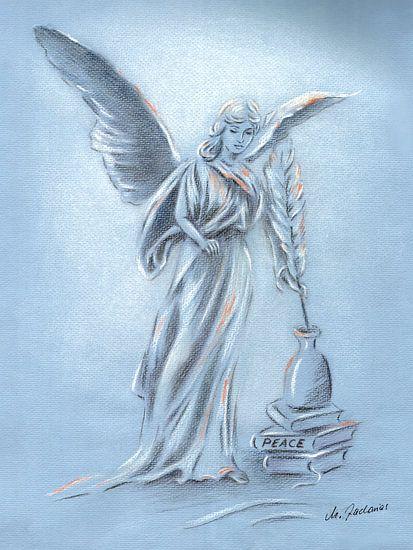 Engel des Friedens - Engelkunst