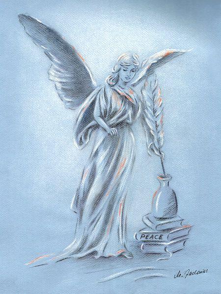 Engel van Vrede - Angel Art van Marita Zacharias
