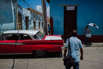 Straatfotografie in Trinidad, Cuba van