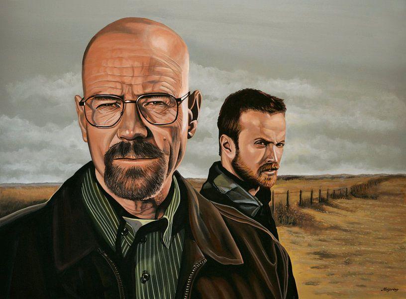 Breaking Bad schilderij van Paul Meijering
