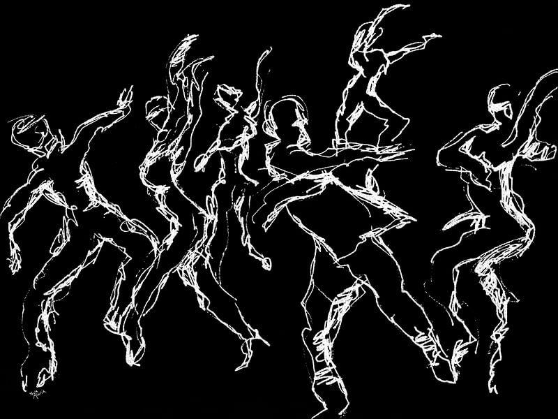 Nacht-Tänzer von ART Eva Maria