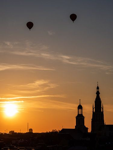 Breda - Grote Kerk Sunset