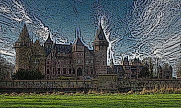 Schloss das Haar von Jose Lok