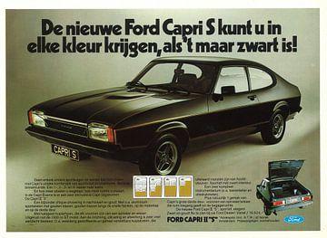 Werbung für Ford Capri S von Jaap Ros