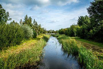 Utrecht-Maxima Park mit kleinen Brücke 1 von Jaap Mulder