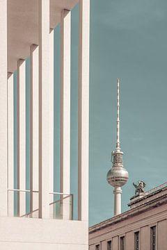 BERLIN Fernsehturm & Museumsinsel | urbaner Vintage-Stil von Melanie Viola