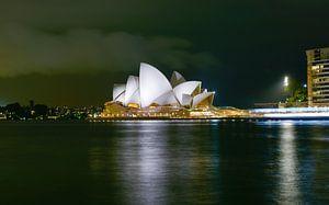 Sidney, Opera House in de avond