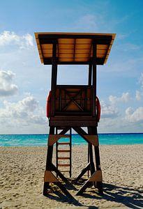 Wachttower of a lifeguard` von Anouk Noordhuizen