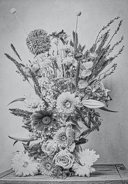 Stilleben mit Blumen von Wendy Tellier - Vastenhouw