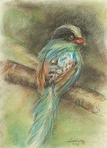 Vogel 1 van Ineke de Rijk