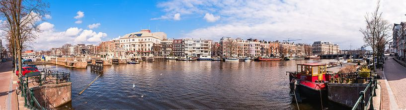 Panorama Carre Amsterdam van Brian Morgan