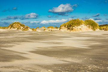 Dunes on the North Sea island Amrum van Rico Ködder