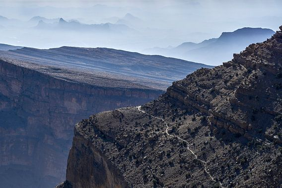 Wadi Ghul Canyon van Jeroen Kleiberg