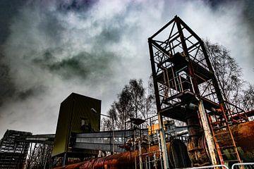 industrie fabriek verlaten van bert erven