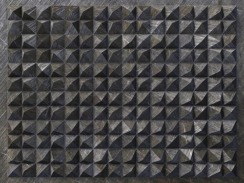 Reliëf 2016 C3 Zwarte kunststof van