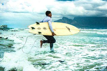 Surfer Shore van Pieter Smeitink