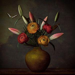 Bloemen Stilleven van Petri Vermunt