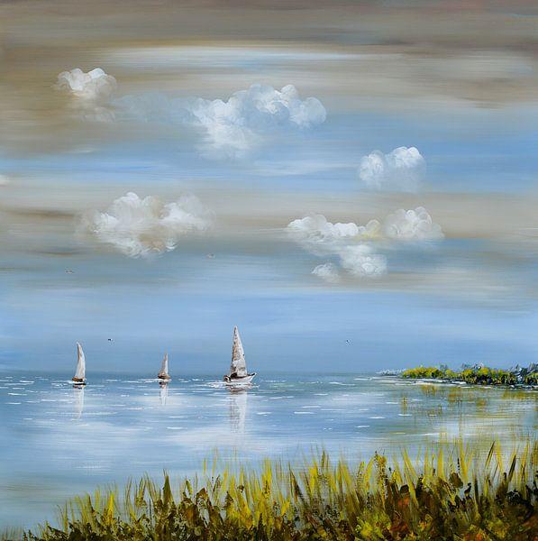 Sailing  van Gena Theheartofart