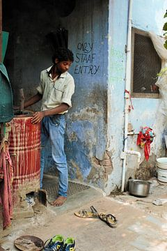 Indian kitchen, Agra van Milou Breunesse