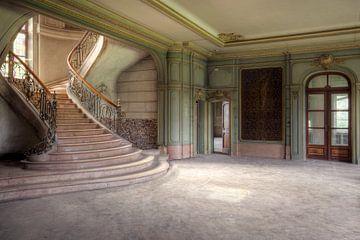 escalier imposant sur Kristof Ven