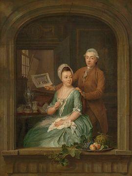 Porträt von Robert Muys und seiner Frau Maria Nozeman, Nicolaes Muys