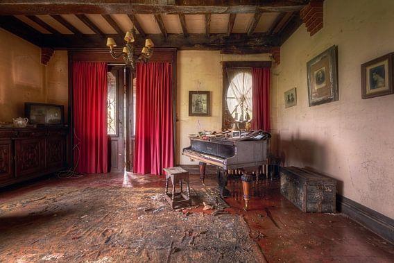 Piano in Huis. van Roman Robroek