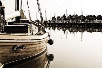 Segelboot im Hafen von Rico Ködder
