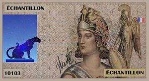 Bankbiljet Frankrijk Echantillon van Johannes Murat