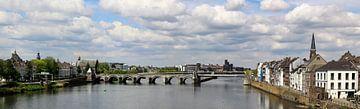 Panorama Servaas Brücke Maastricht von John Kerkhofs