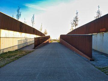Tunnel van Nationaal Monument MH17 in Park Vijfhuizen van Atelier Liesjes