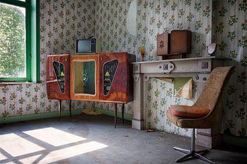 Urbex: Televisie kamer van Carola Schellekens
