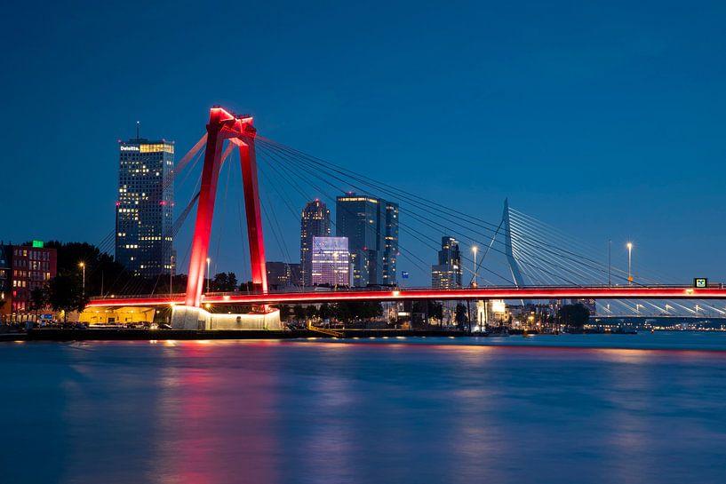 Rotterdam Willemsbrug van Jasper Verolme