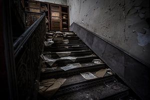 Abandoned Paperwork van