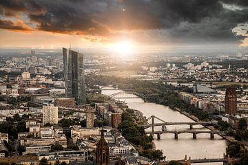 Frankfurt am Main von oben von Sergej Nickel