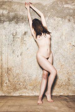 Nackte Frau im alten Keller fotografiert.  #M0630 von william langeveld
