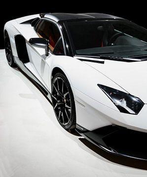 Lamborghini Aventador LP720-4 Roadster 50° Anniversario Sportwagen Vorderansicht von Sjoerd van der Wal