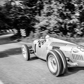 Auto Union Grand Prix Rennwagen Typ C V16 von Sjoerd van der Wal Fotografie