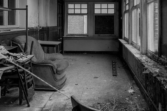 Verlaten kamer van Sander Strijdhorst