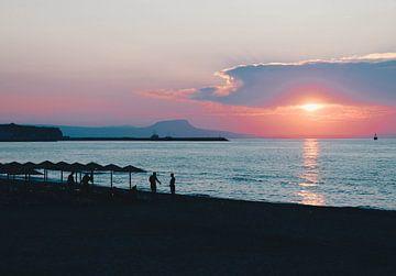 Zonsondergang van Demi | Photography