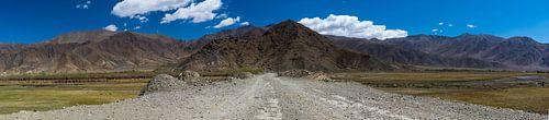 Onverharde weg naar de bergen, Tibet