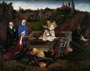 Jan van Eyck - De Drie Maria's bij het Graf van
