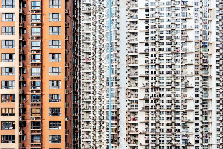 Chinese massa woningen.