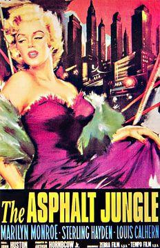 Marilyn Monroe in Der Asphaltdschungel von Brian Morgan