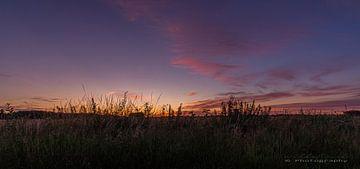 Sunset Blokkendijk van w grob
